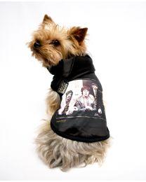 Beatles Black T-shirt with Hood