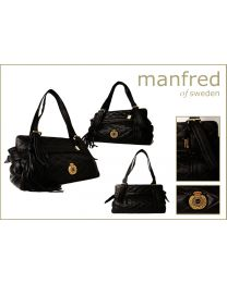 Classic Interweave Black Bag