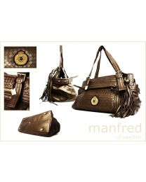 Classic Interweave Bronze Bag