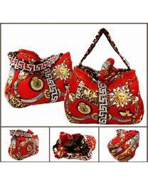 Deauville Silk Swarovski embellished bag